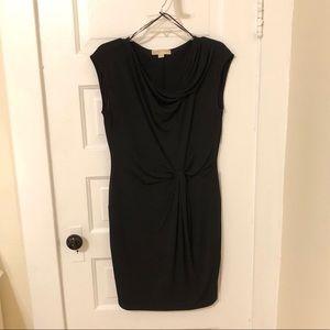 Michael Kors Black Knot Sleeveless Dress